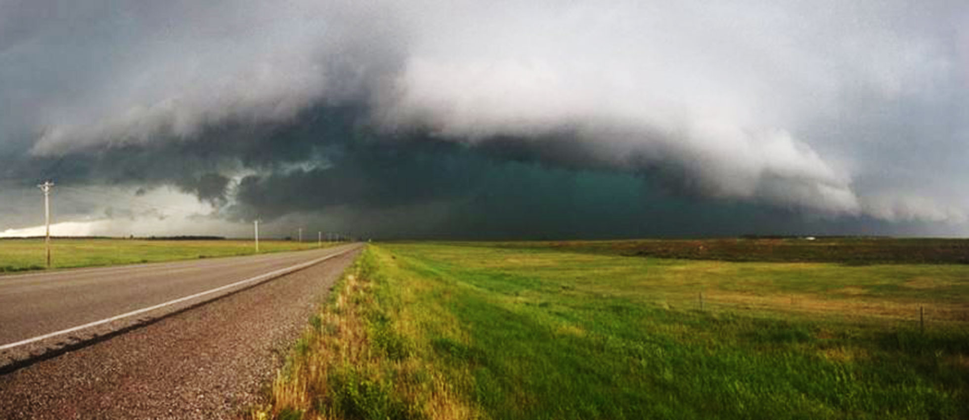 Rockham South Dakota storm weather Courtesy Leah